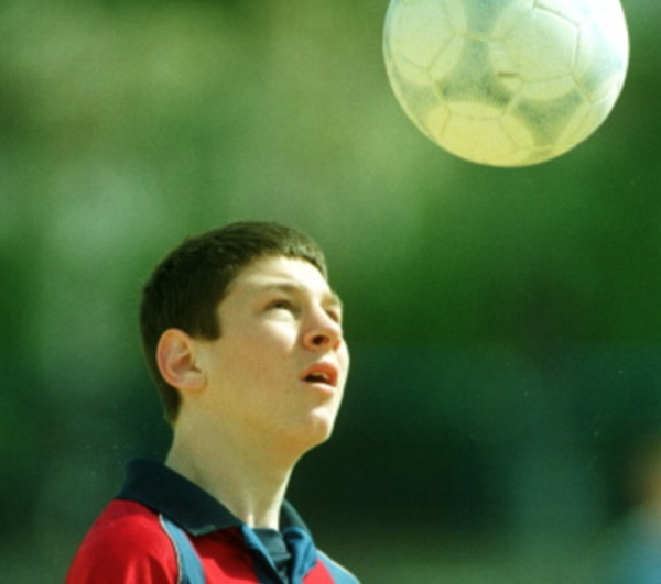 Young Messi photo